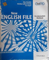 ответы на тесты new english file pre-intermediate